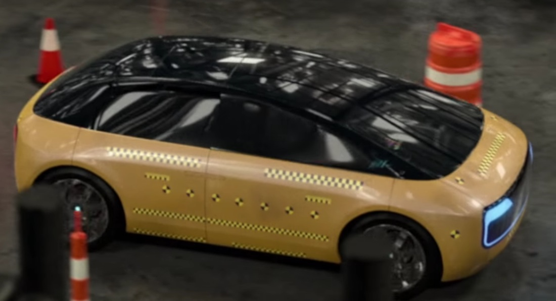 Apple testing new electric car