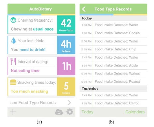 AutoDietary Listens In As You Eat To Give You A Calorie Count 2