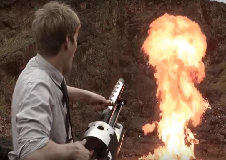 DIY thermite gun