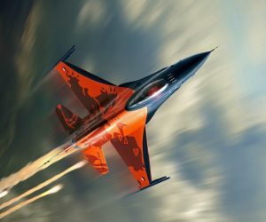 F-16-Falcon-Fighter-Plane-Orange-WallpapersByte-com-2560x1600
