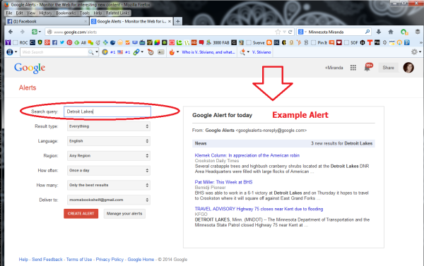Learn How To Create Google Alerts 2