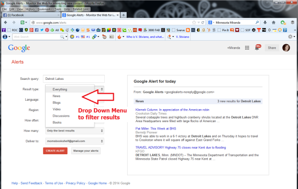 Learn How To Create Google Alerts 3