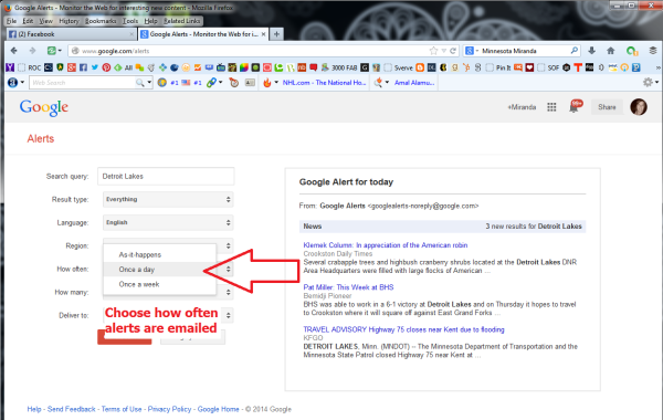 Learn How To Create Google Alerts 4