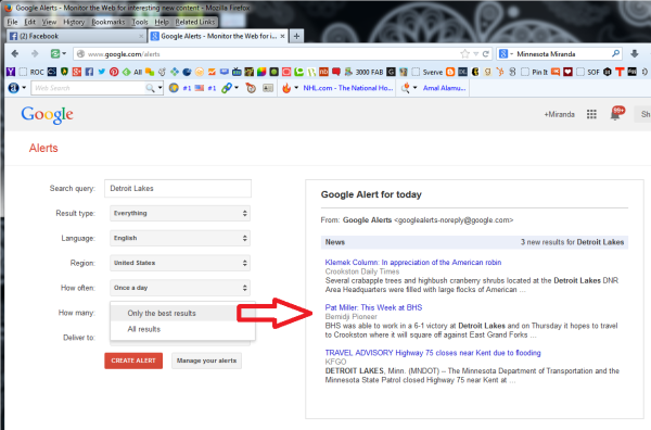 Learn How To Create Google Alerts 5