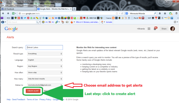 Learn How To Create Google Alerts 7