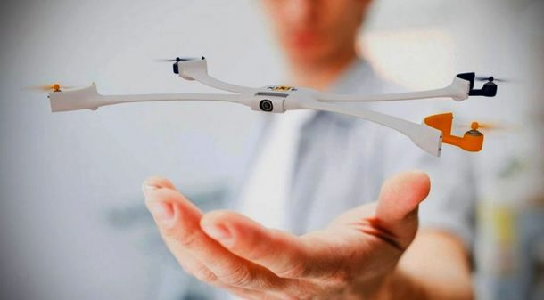 Nixie Is A Wearable Quadcopter That You Can Wear On Your Wrist