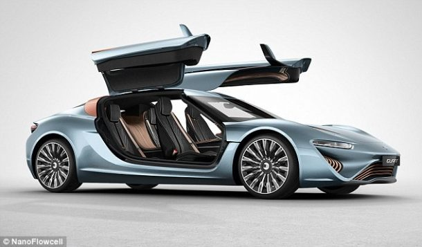 Quant e-Sportlimousine Runs On Salt Water And Is As Fast As McLaren P1
