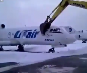 Russia Is Crazy   Disgruntled Employee Destroys Airplane