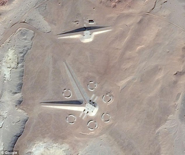 UFO base Egypt