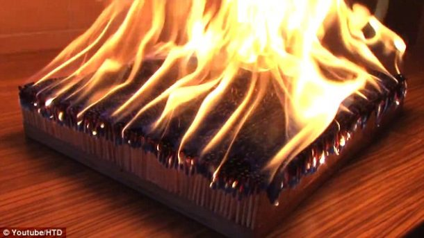 You Won't Believe How Amazing Burning 6,000 Matches Looks 2