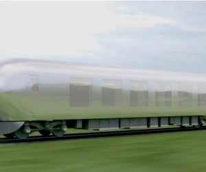 invisible train to be launched in Japan