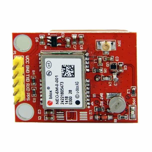 NEO-6M GPS Module with Ceramic Passive Antenna for Raspberry Pi 2