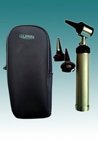 Professional Otoscopes with Zippered Leather case by Gurin