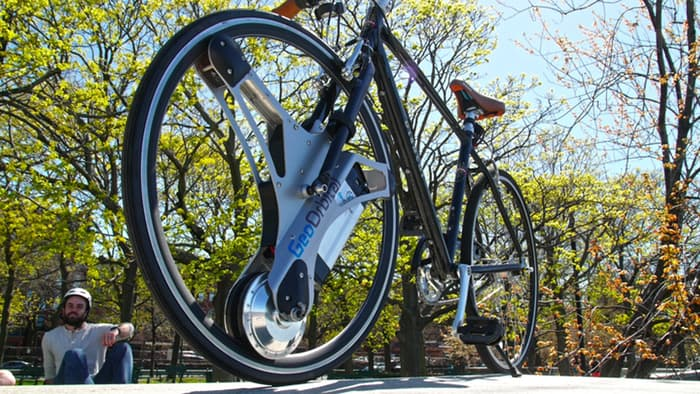 Battery-powered, swap-in tire reinvents the idea of an Electric Bike_Image 3