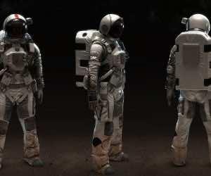 Futuristic Space Suits