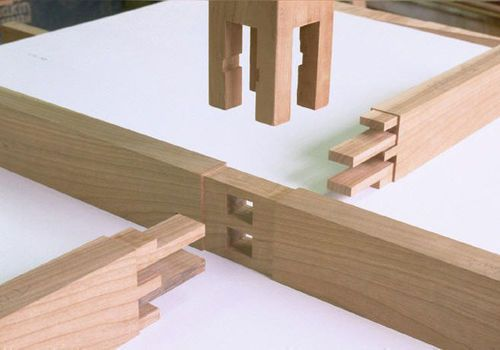 Japanese wood joint