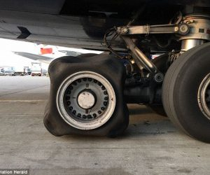 Mystery Of The British Airways Plane Landing With A Square Tire_Image 3