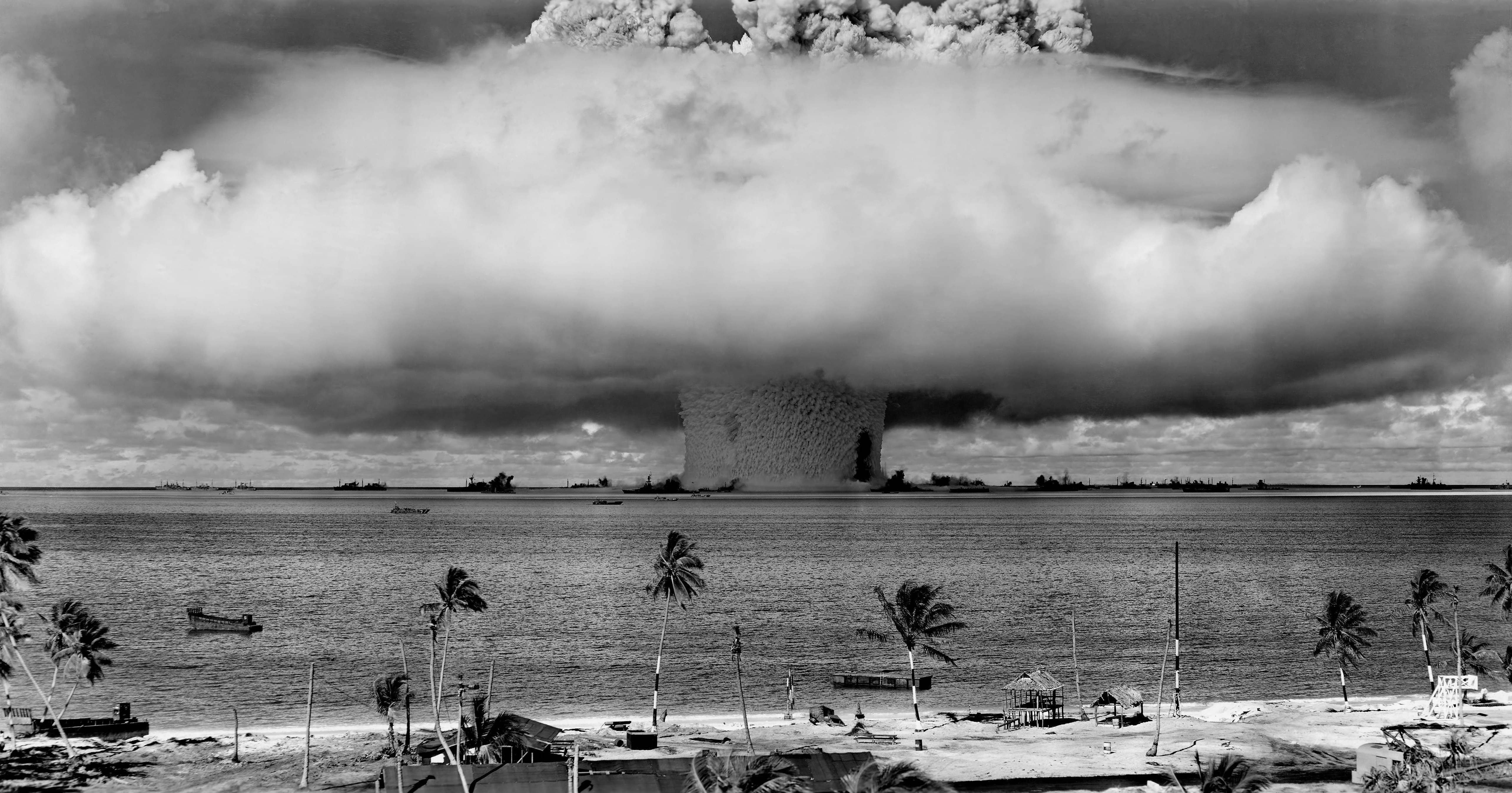 Nuclear bomb in water