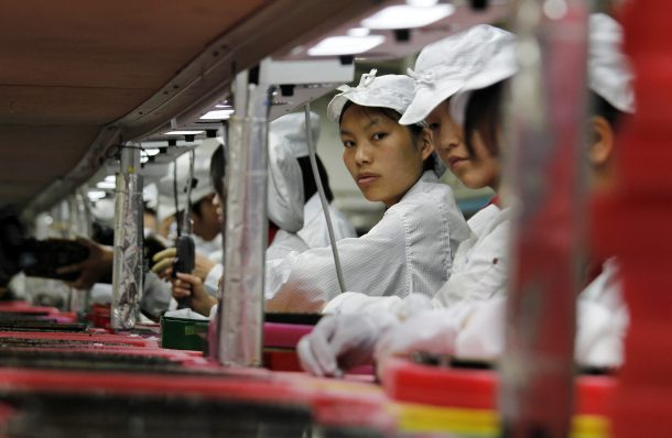Foxconn replaces half its workforce with robots