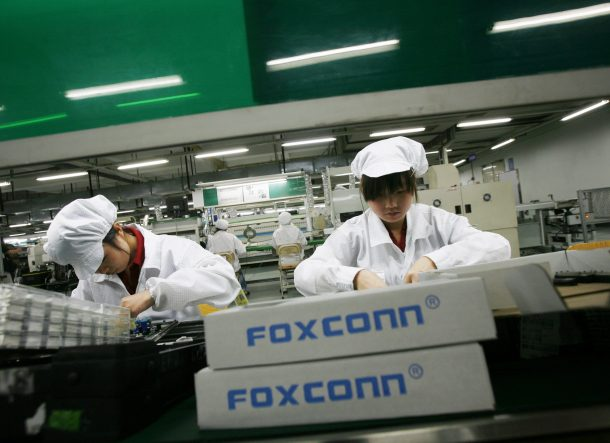 Foxconn dismisses 60000 workers