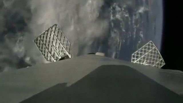 Space X camera vent