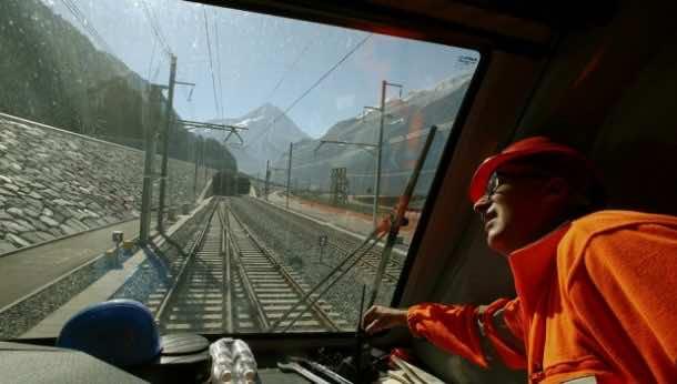 Switzelrand World's longest rail tunnel