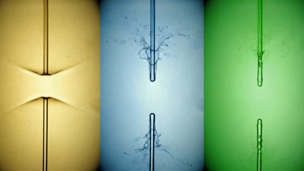 The Incredible Video Shows Droplets Getting Zapped By X-Ray Laser For The First Time_Image 1