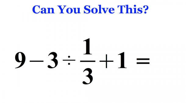 The Quickest & Easiest Way To Solve The Viral Math Problem Baffling The Internet_Image 1