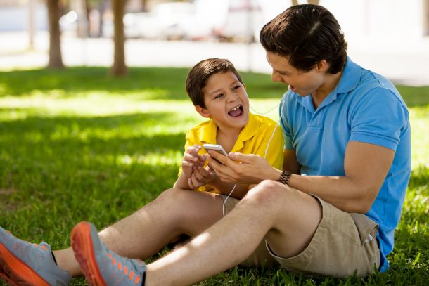 Singing with my dad