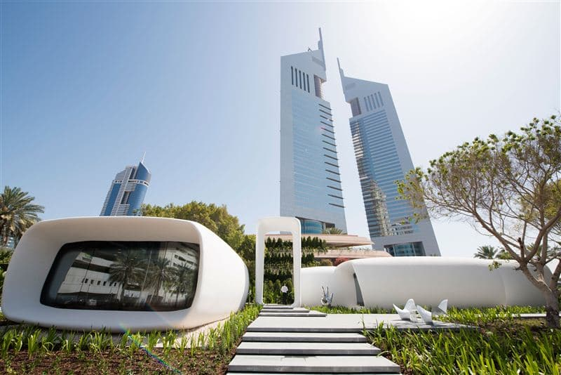 World's First Fully Operational 3D Printed Office Debuts In Dubai_Image 7