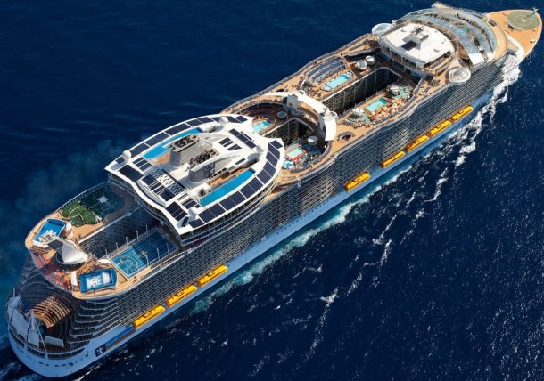 World's Largest Cruise Ship Flaunting Futuristic Features Docks in the UK_Image 4