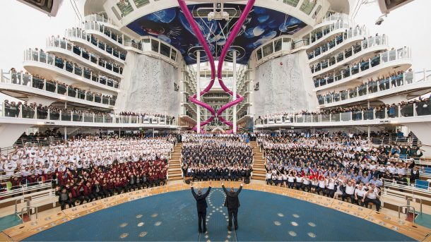 World's Largest Cruise Ship Flaunting Futuristic Features Docks in the UK_Image 7