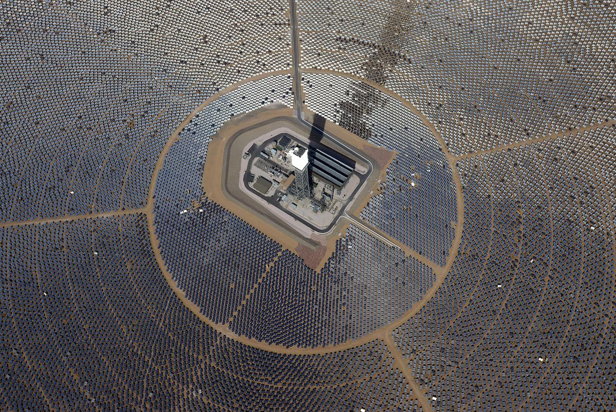 World S Largest Solar Power Plant Experiences A Minor Meltdown Due To Misaligned Mirrors