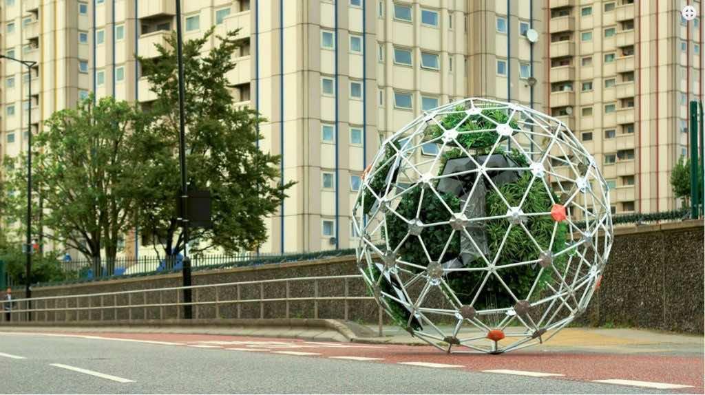 autonomous plant sphere