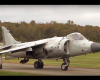 guy buys harrier fighter plane