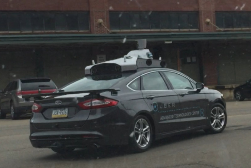 self-driven taxi Uber2