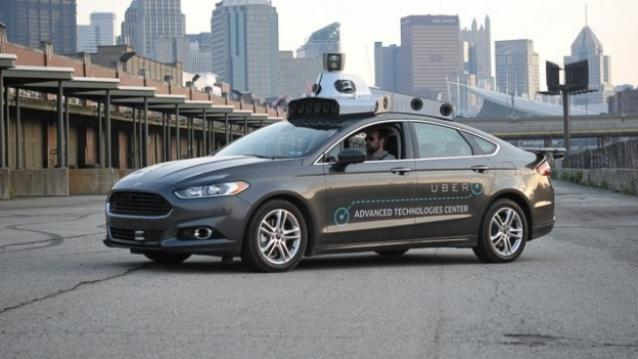 self-driven taxi Uber3