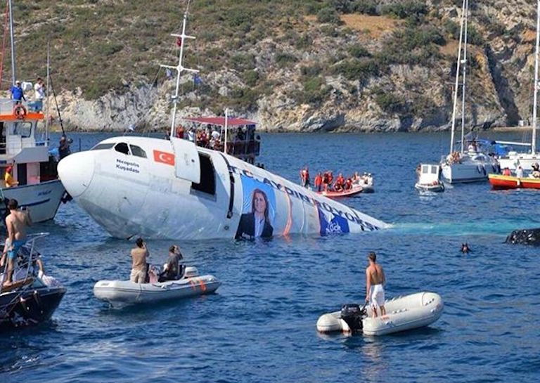 Airbus sinking