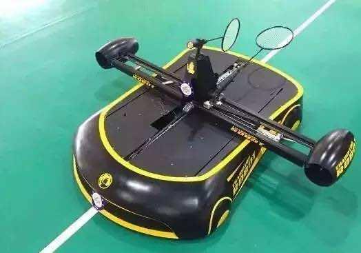 Badminton Playing Robot