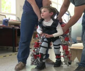 Child Exoskeleton Enables Disabled Kids to Walk