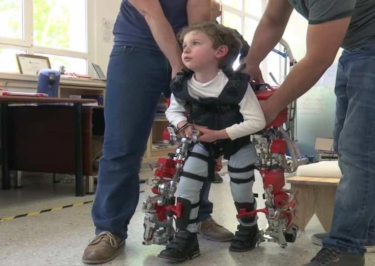 Child Exoskeleton Enables Disabled Kids to Walk