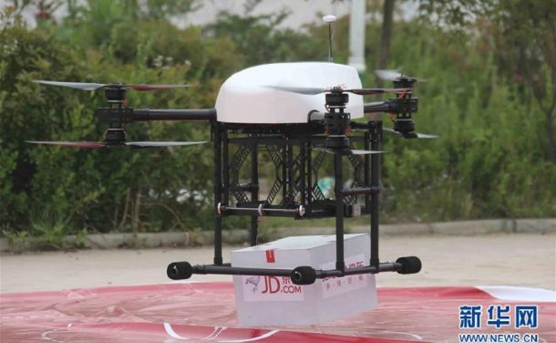 Chinese Delivery Drones Fulfilling Orders In Rural Regions_Image 2