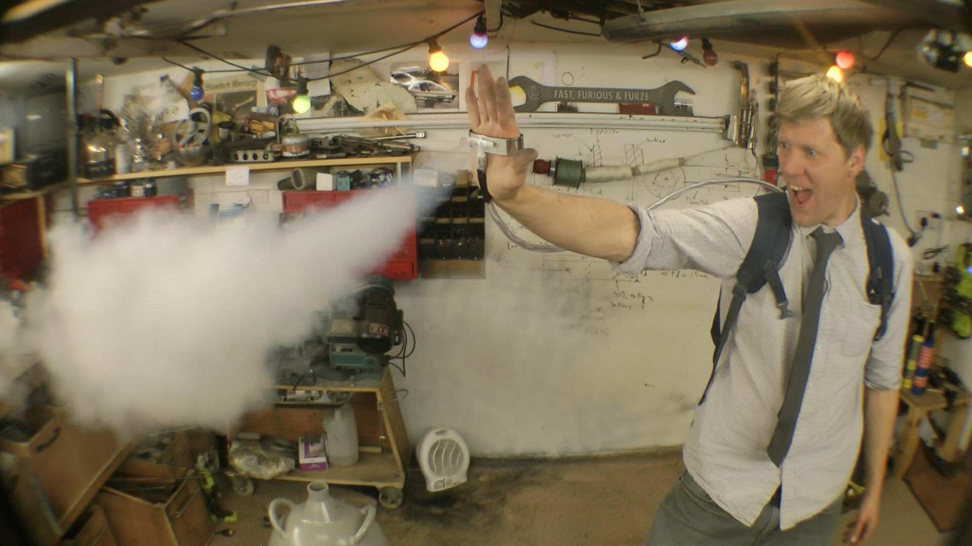 Colin Furze Ice man gun3