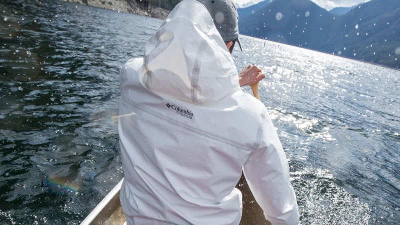 Colombia waterproof jacket from bottles2