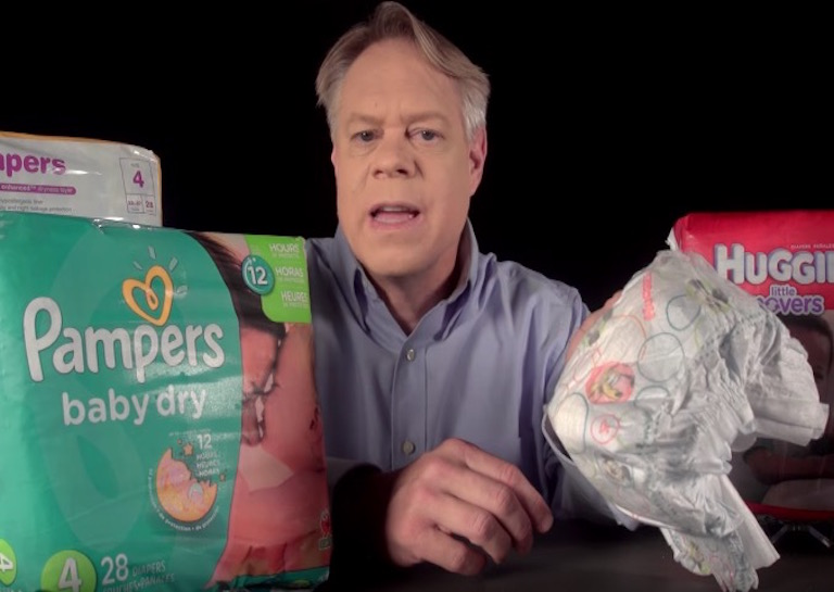 Disposable diaper engineering