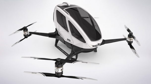 Flight Testing For Ehang 184 Has Been Given Approval 3
