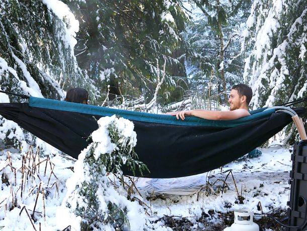 Hydro Hammock takes outdoor leisure to a new level