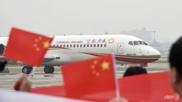 Made In China Plane Makes First Commercial Flight_Image 1
