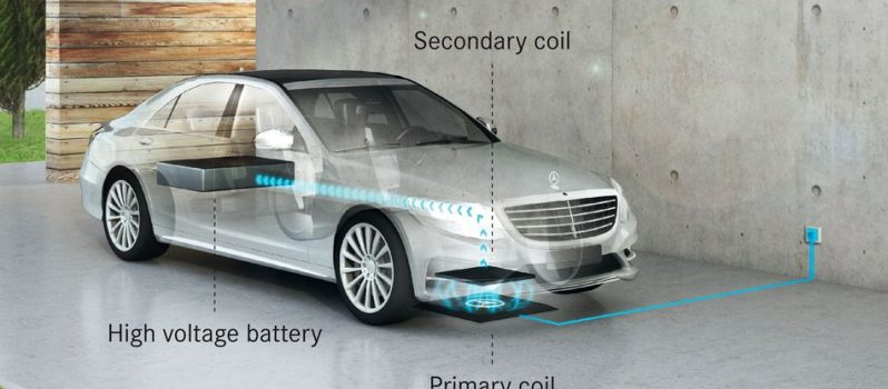 Mercedez Wireless charging2