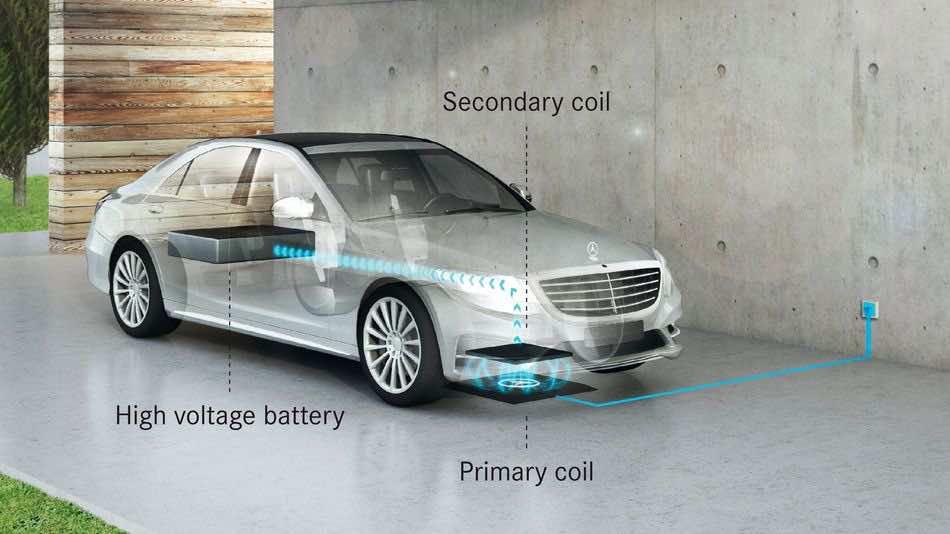 Mercedez Wireless charging2